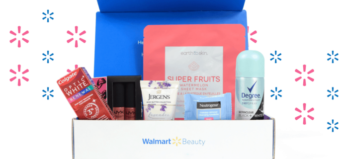 Walmart Beauty Box Winter 2019-2020 Box Spoilers – Available Now!