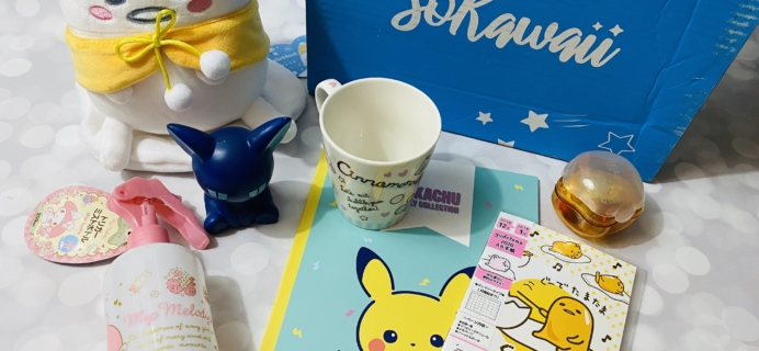 SoKawaii January 2020 Subscription Box Review + Coupon