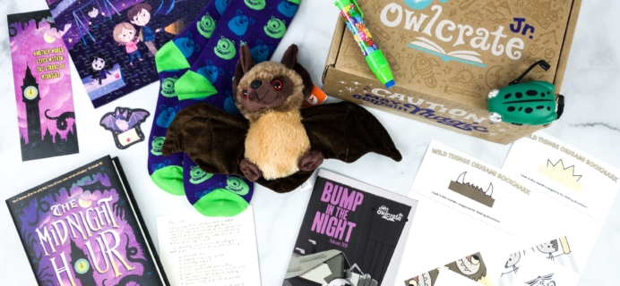 OwlCrate Jr. February 2020 Box Review & Coupon – BUMP IN THE NIGHT