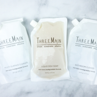 Three Main Cleaners Refills Review + 50% Off Coupon