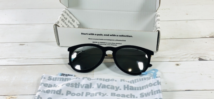 Shades Club February 2020 Subscription Box Review + Coupon
