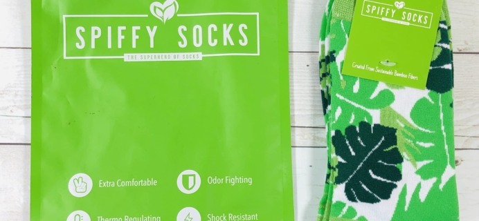 Spiffy Socks February 2020 Subscription Box Review  + Coupon