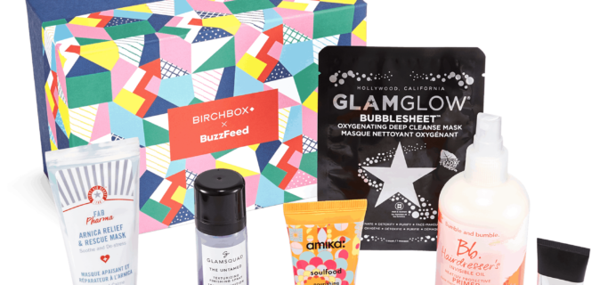 Birchbox Coupon: Get $10 Off Buzzfeed x Birchbox Splurge-Worthy Box!