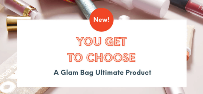 Ipsy Glam Bag Ultimate April 2020 Choice Time!