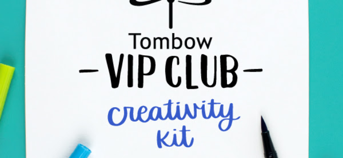 Tombow VIP Club Creativity Kit Available Now + February 2020 Full Spoilers!
