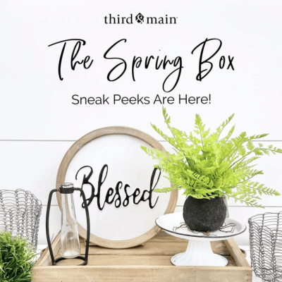 Third & Main Home Spring 2020 Deluxe Box Full Spoilers!