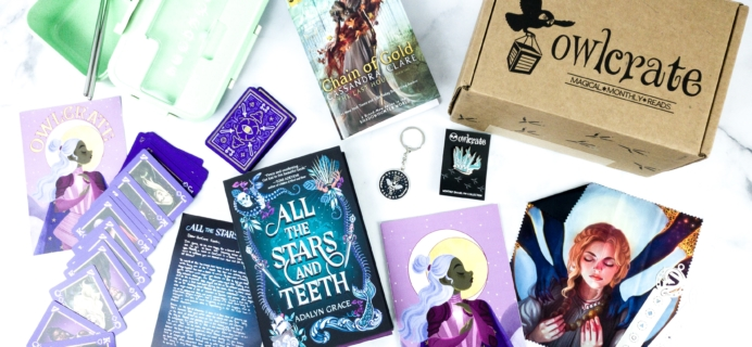 OwlCrate February 2020 Subscription Box Review + Coupon – A POWER WITHIN