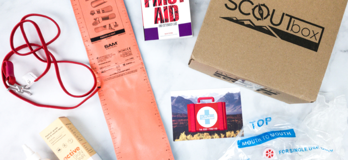 SCOUTbox February 2020 Subscription Box Review + Coupon