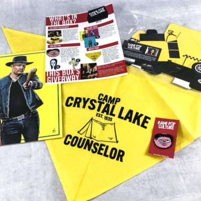The BAM! POP CULTURE BOX October 2019 Subscription Box Review & Coupon