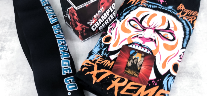 WWE Slam Crate June 2019 Subscription Box Review + Coupon