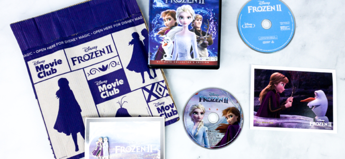 Disney Movie Club February 2020 FROZEN 2 Review + Coupon
