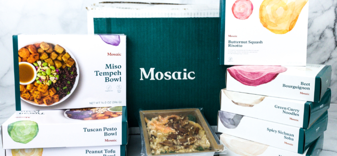Mosaic Foods Plant-Based Meals Review + Coupon!