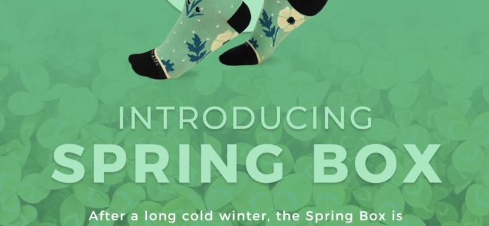 Sock Fancy Spring 2020 Seasonal Box Full Spoilers + Coupon!
