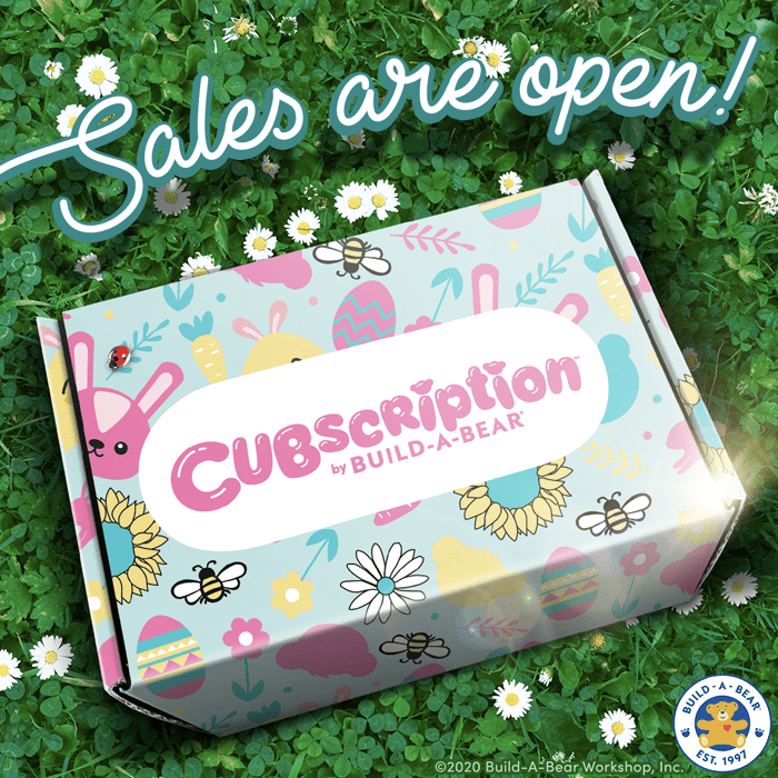 Cubscription by Build-A-Bear Spring 2020 Theme Spoiler – Sales Open!