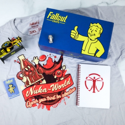 Loot Crate Fallout Crate October 2019 Review + Coupon