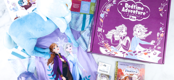 Disney Bedtime Adventure Subscription Box Review – February 2020