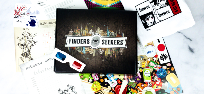 Finders Seekers Subscription Box Review + Coupon – TOKYO