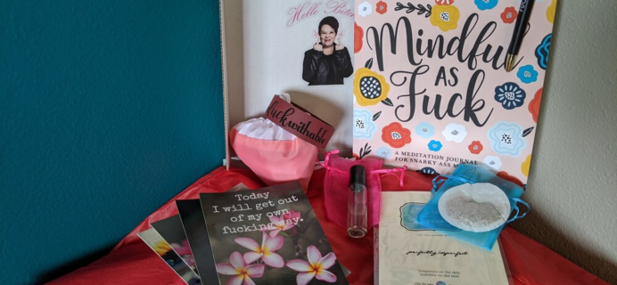 Getting Unf*cked Mind Body Business Box – Review? Women's Lifestyle Subscription!