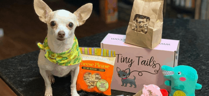 Tiny Tails Box – Review? Small Dogs Subscription + Coupon!