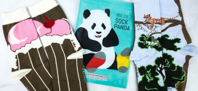Sock Panda Tweens March 2020 Subscription Review + Coupon