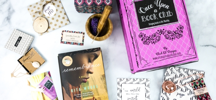 Once Upon a Book Club February 2020 Subscription Box Review + Coupon – Adult Box