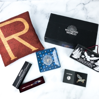JK Rowling's Wizarding World Crate November 2019 Review + Coupon