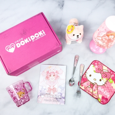 Doki Doki March 2020 Subscription Box Review & Coupon