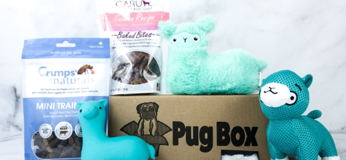 Pug Box February 2020 Subscription Box Review + Coupon!