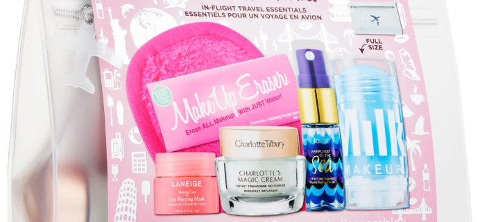 Mini Travel Essentials Set: New Sephora Kit Available Now + Coupons!