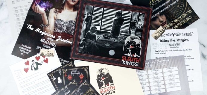 Sleuth Kings Subscription Box Review + Coupons – Case 030 BLACK MAGIC