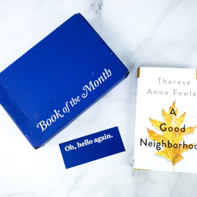 Book of the Month March 2020 Subscription Box Review + Coupon