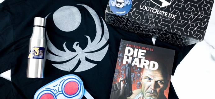 Loot Crate DX December 2019 Subscription Box Review & Coupon