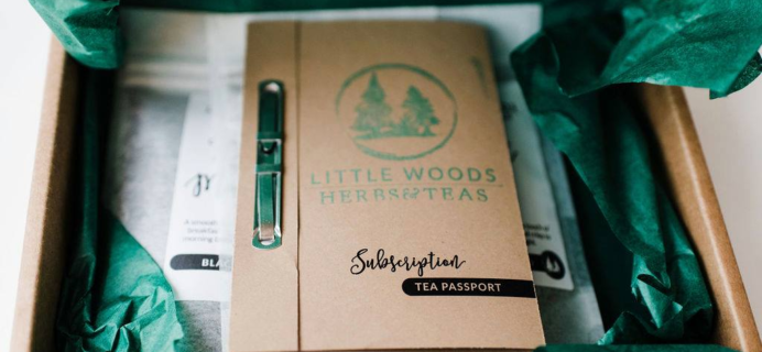 Little Woods Herbal Tea Passport Subscription – Review? Artisan Tea Subscription!
