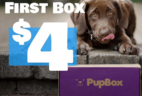 PupBox National Puppy Day Sale: First PupBox $4!