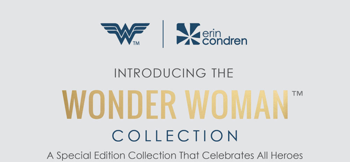 Erin Condren x Wonder Woman Collection Available Now + Coupon!