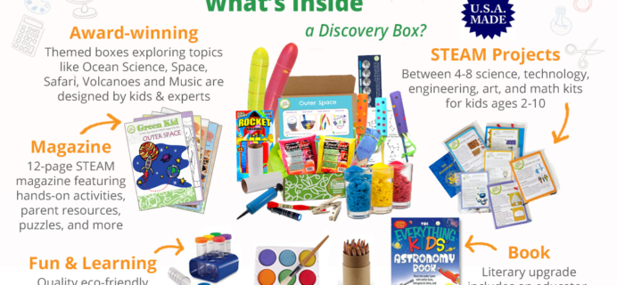 Green Kid Crafts Sale: Get 60% Off First Month or 10% Off Prepaid Subscriptions!