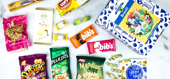 Universal Yums Subscription Box Review + Coupon – BRAZIL