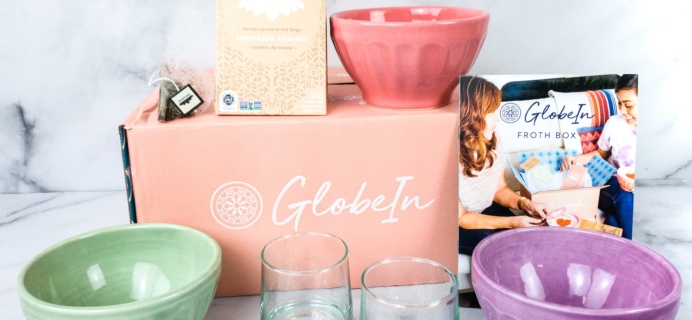 GlobeIn Artisan Box Club March 2020 Review + Coupon – FROTH BOX