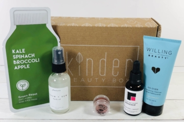 Kinder Beauty Box March 2020 Review + Coupon!