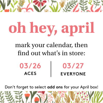 Birchbox April 2020 Spoilers & Coupon – Sample Choice and Curated Boxes
