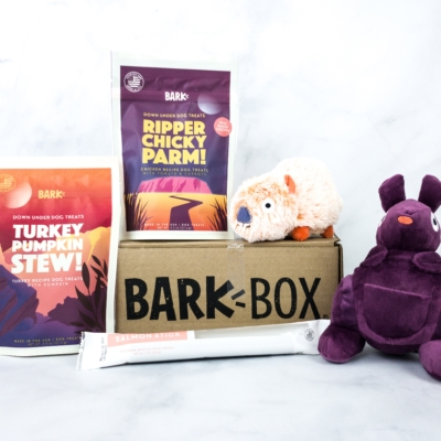 Barkbox March 2020 Subscription Box Review + Coupon