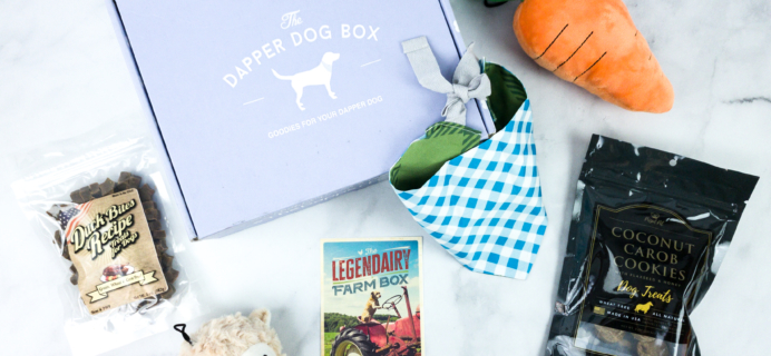 The Dapper Dog Box March 2020 Subscription Box Review + Coupon