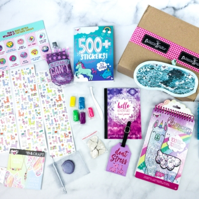 April 2020 Fashion Angels Find Your Wings Subscription Box Review + Coupon