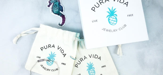 Pura Vida Jewelry Club March 2020 Subscription Box Review + Coupon!