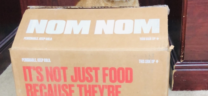 Nom Nom Cat Food Subscription Review + Coupon!