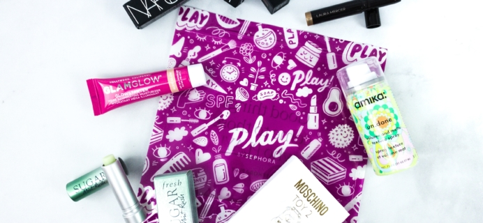Play! by Sephora March 2020 Subscription Box Review
