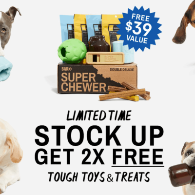 Super Chewer Coupon: Double Your Box First Month!
