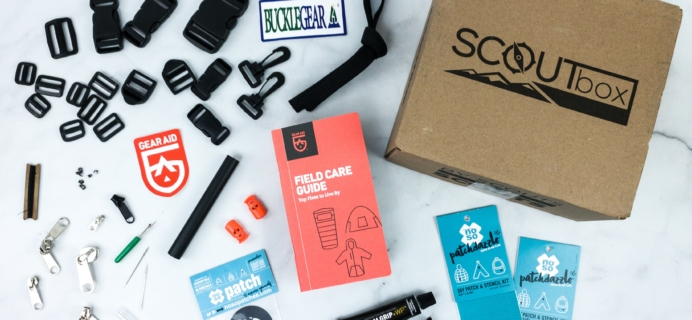 SCOUTbox March 2020 Subscription Box Review + Coupon