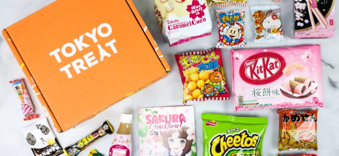 Tokyo Treat April 2020 Subscription Box Review + Coupon