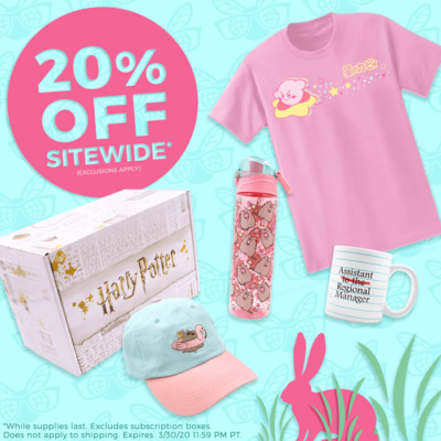 Culturefly Spring Sale: Save 20% SITEWIDE!